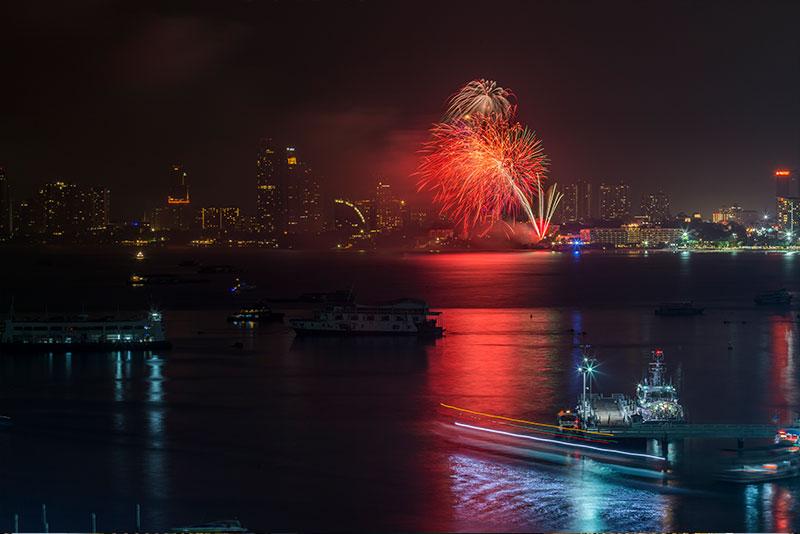 芭達雅新年跨年倒數慶