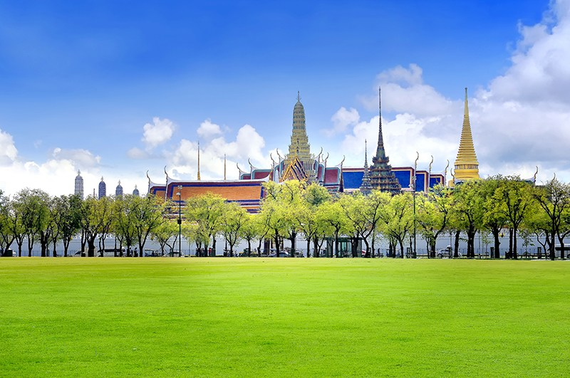 探索曼谷這座美麗城市、海濱以及山頂皇宮