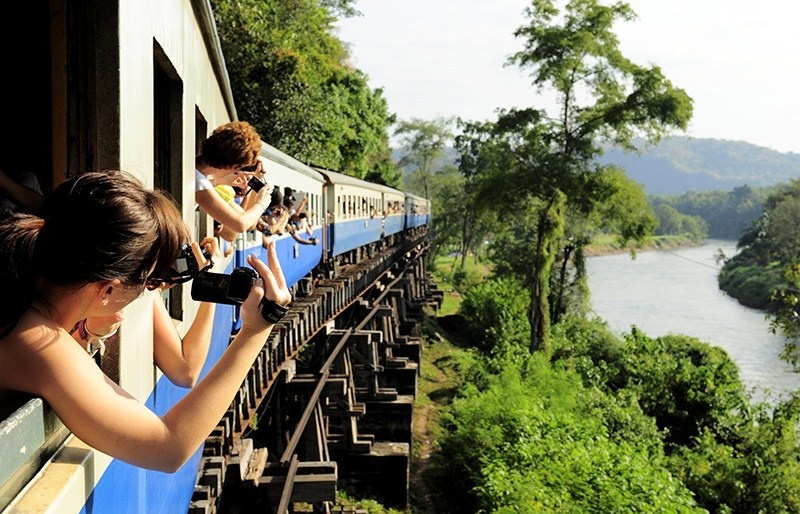 泰國火車鐵路之旅