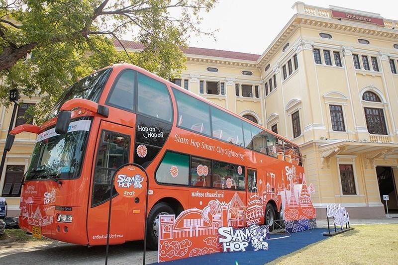 泰國觀光局歡迎曼谷最新的Siam Hop觀光旅遊巴士服務