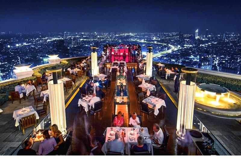曼谷 Lebua 蓮花大飯店 - 世界上第一個矗立天際的景點
