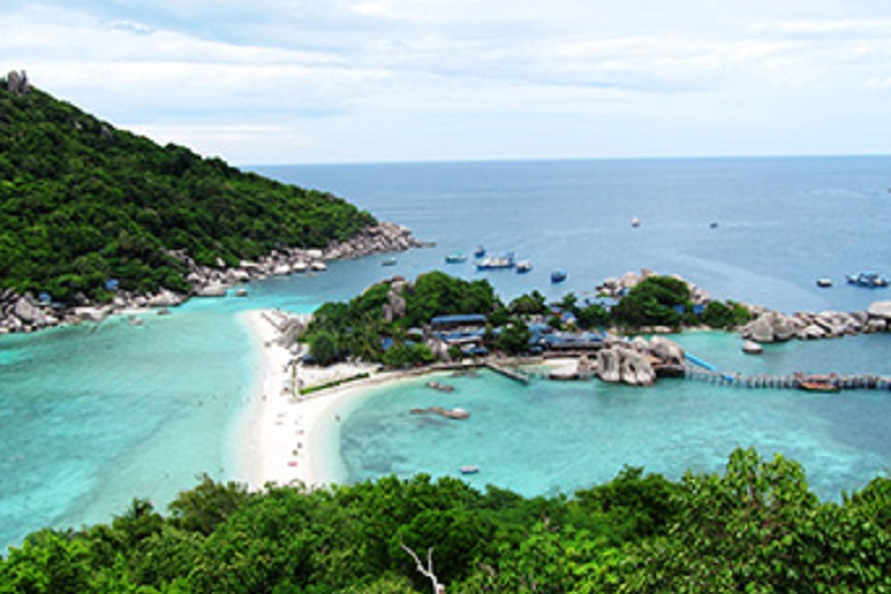 純淨海鷗島,好一幅海角一樂園的景緻