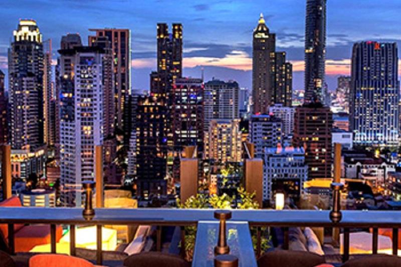 曼谷天台Lounge 新潮流,小而美的文青味