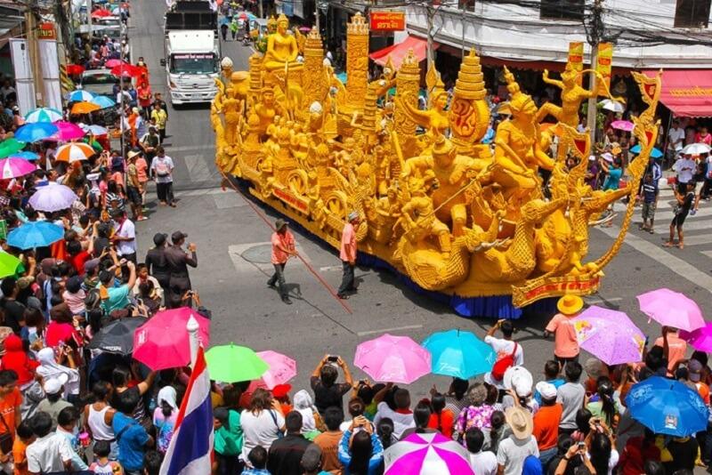 2018泰國佛教守夏節(蠟燭節)