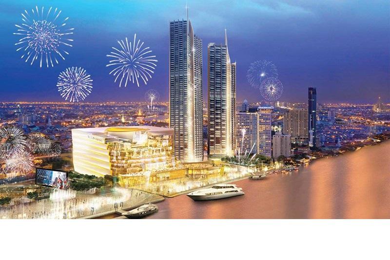 曼谷全新複合購物住宅中心暹羅天地ICONSIAM 於11月9日開幕
