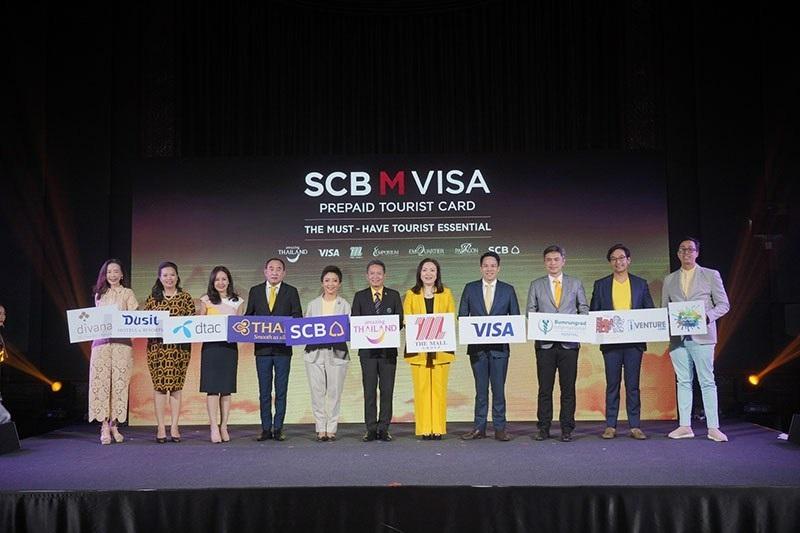 泰國匯商銀行、The Mall百貨集團和Visa合作推出SCB M Visa遊客預付卡