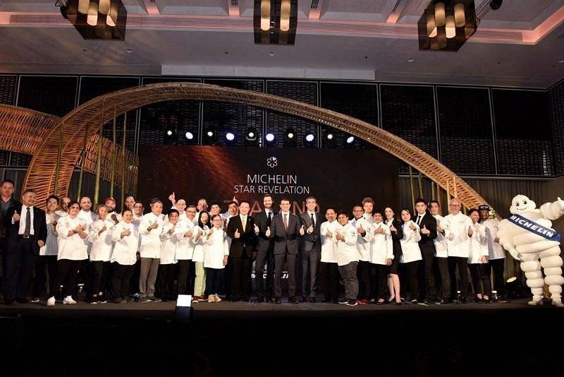 泰國觀光局祝賀列入《2020米其林指南》的所有泰國餐館