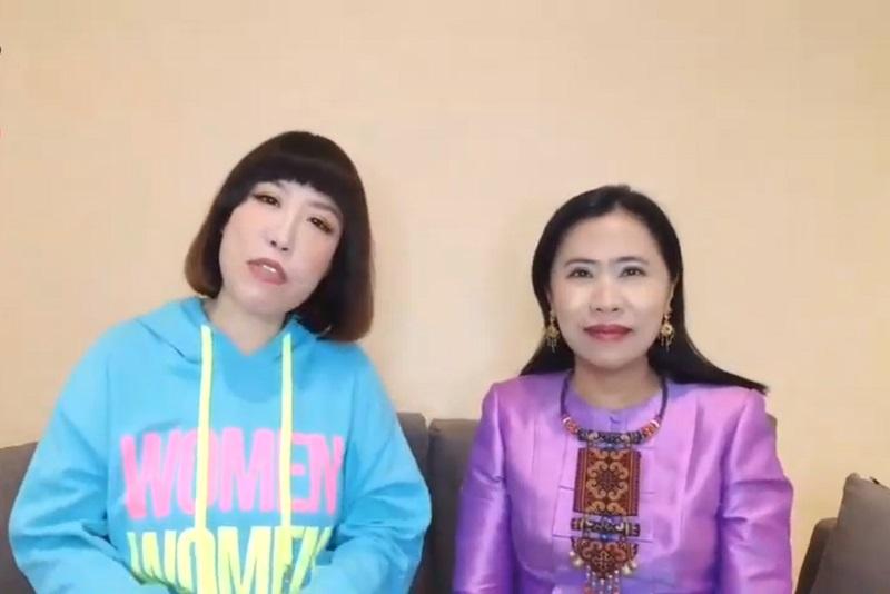 泰國觀光局台北辦事處丁蓉采處長和名人亞美將Amijan教你幾句簡單的泰文(美食篇)