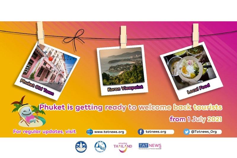 Ni Hao Phuket !你好!普吉島! 2021年7月1日重新開放