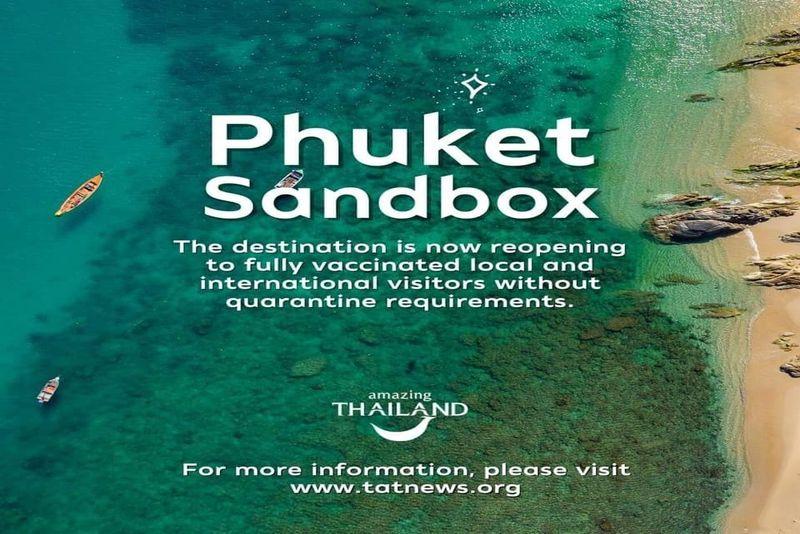 普吉島沙盒重新開放 泰國最著名的島嶼現已生效