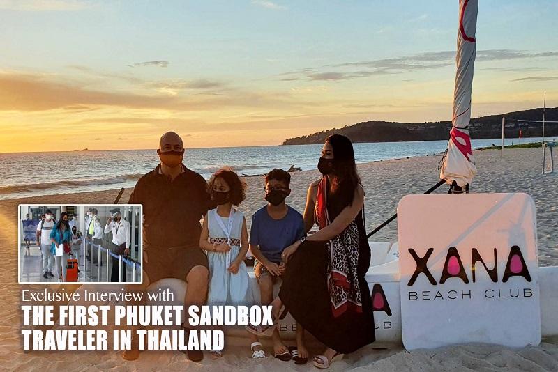 普吉重新開放-Exclusive Interview with the First Phuket Sandbox Traveler in Thailand 1 July 2021
