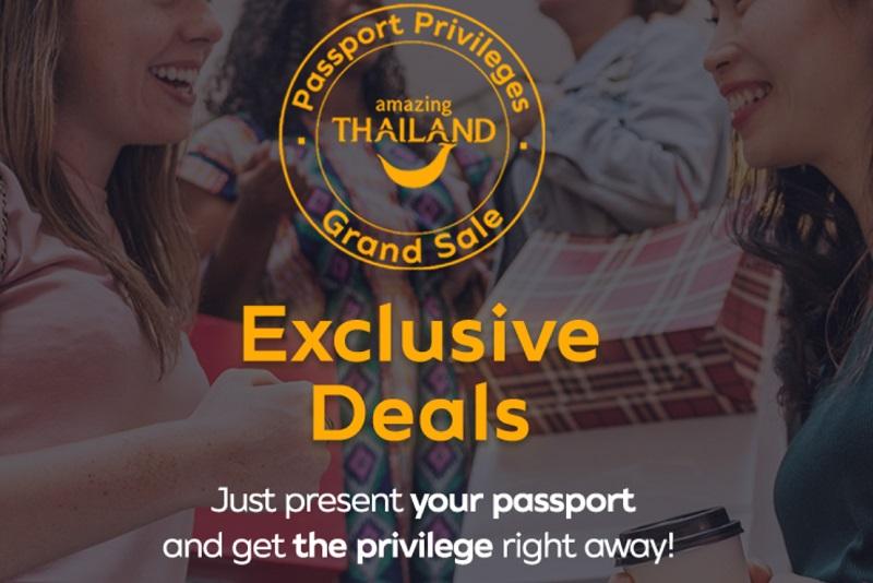 驚喜泰國年終大優惠「秀護照享特惠」