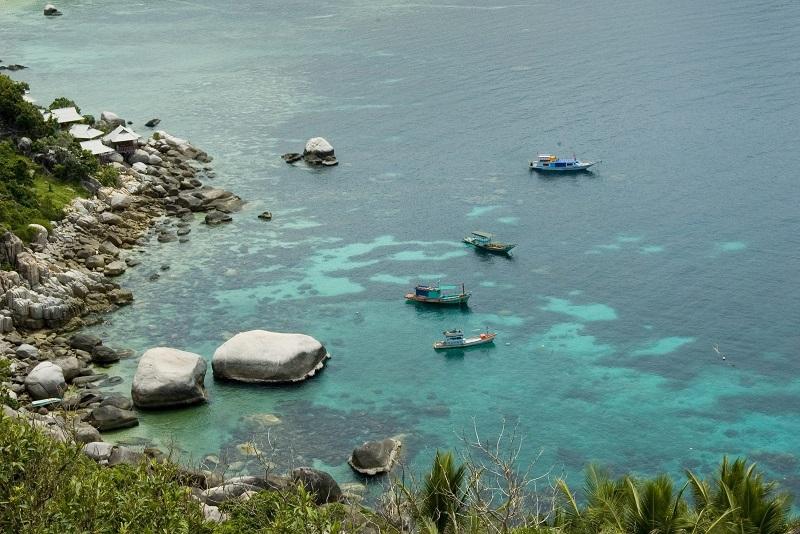 龜島因強勁有效的珊瑚礁保育而倍受讚譽